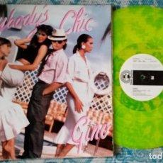 Discos de vinilo: LP GINO - EVERYBOSY'S CHIC - ¡UNICO ENVIO A FINAL DE MES!. Lote 221235903