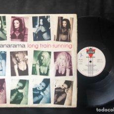 Discos de vinilo: BANANARAMA ?– LONG TRAIN RUNNING. Lote 221236372