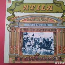 Discos de vinilo: VINILO DE ATILA -INTENCION- SELLO BASF -3553915 (5822-6). Lote 221236732