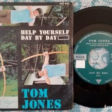 Discos de vinilo: SINGLE TOM JONES - HELP YOURSELF - ¡ÚNICO ENVÍO A FINAL DE MES!. Lote 221237290