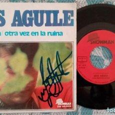 Discos de vinilo: SINGLE LUIS AGUILE - LO SABIA - ¡ÚNICO ENVÍO A FINAL DE MES!. Lote 221237755