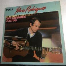 Discos de vinilo: DISCO VINILO LP - SILVIO RODRIGUEZ - MIS GRANDES EXITOS. Lote 221239817