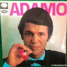 Discos de vinilo: ADAMO: LE NEON/ VIVRE/ UNE LARME AUX NUAGES/ DIS, MA MUSE. EP RF-4588. Lote 221248877