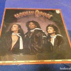Discos de vinilo: EXPRO LP MUSICA DISCO MOLIN ROUGE 1979 PEQUEÑAS SEÑALES DE USO AUN CORECTO. Lote 221249700