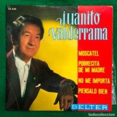 Disques de vinyle: JUANITO VALDERRAMA / EP BELTER RF-4589. Lote 221250120