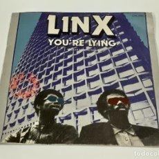 Disques de vinyle: LINX (3370). Lote 221250736