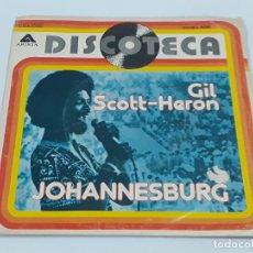 Discos de vinilo: JOHANNESBURG (3377). Lote 221252526