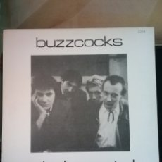 "Discos de vinilo: BUZZCOKS 1977 12"" NEW HORMONES . 1991 DOCUMENT RECORDS .NUEVO. Lote 221253925"