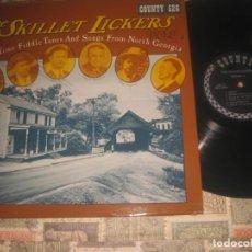 Discos de vinilo: THE SKILLET LICKERS (CONTTY RECORDS -1973) OG USA LEY SECA HISTORICO BLUEGRASS. Lote 221258872