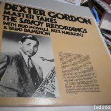 Discos de vinilo: LP DEXTER GORDON.WITH BUD POWELL, FATS NAVARRO & TADD DAMERON SAVOY 1985 USA (BUEN ESTADO). Lote 221258901