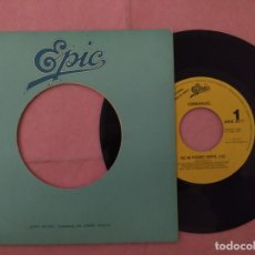 Discos de vinilo: 7 EMMANUEL ‎– NO HE PODIDO VERTE - EPIC ARIE 3017 - SPAIN PRESS PROMO 1SIDED (EX/EX). Lote 221258986