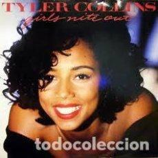 Discos de vinilo: TYLER COLLINS, GIRLS NITE OUT - MAXI-SINGLE SPAIN 1990. Lote 221265615