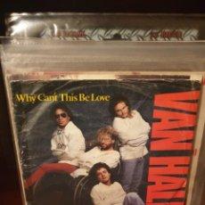 Discos de vinilo: VAN HALEN / WHY CAN'T THIS BE LOVE / WARNER BROS 1986. Lote 221266101