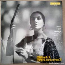 Discos de vinilo: NATI MISTRAL – CANCIONES DE: GARCIA LORCA, R. DE LEON, LECUONA, ETC.- LP VERGARA SPAIN 1965. Lote 221274738