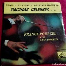 Discos de vinilo: FRANCK POURCEL Y SU ORQUESTA. PAGINAS CELEBRES 2. Lote 221277453