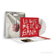 Discos de vinilo: DANI MARTÍN -LO QUE ME DE LA GANA -LP ED. LIMITADA FIRMADA-. Lote 221277760