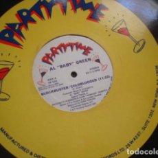 Discos de vinilo: AL BABY GREEN BLOCKBUSTER / COLDBLOODED. Lote 221280776
