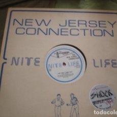 Discos de vinilo: THE NEW JERSEY CONNECTION LOVE DON'T COME EASY. Lote 221281547