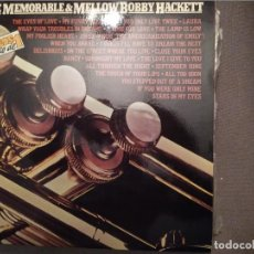 Discos de vinilo: BOBBY HACKETT : THE MEMORABLE & MELLOW DOBLE LP ED ESPAÑA 1982. Lote 221286091