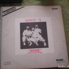Discos de vinilo: WARP 9  NUNK (NEW WAVE FUNK). Lote 221286486