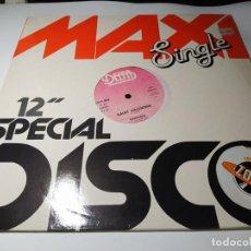 Discos de vinilo: MAXI - BARRABAS ?– SAINT VALENTINE - DEM 777 ( VG+/ VG+) ITALY 1983. Lote 221286636