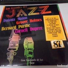 Discos de vinilo: DISCO LOS GRANDES DEL JAZZ NUMERO 87 DAKATA STATON GROOVE HOLMES BERNARD PURDIE CORNELL DUPREE. Lote 221299916