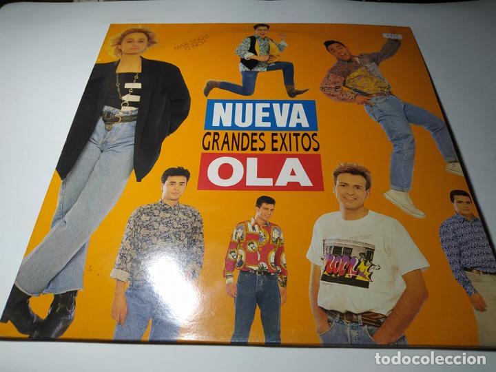 MAXI - NUEVA OLA ?– GRANDES ÉXITOS - PT-43858 ( VG+/ VG+) SPAIN 1990 (Música - Discos de Vinilo - Maxi Singles - Grupos Españoles de los 90 a la actualidad)