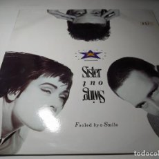 Discos de vinilo: MAXI - SWING OUT SISTER ?– FOOLED BY A SMILE - 888 716-1 ( VG+/ VG+) SPAIN 1987. Lote 221300151