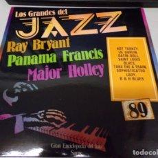 Discos de vinilo: DISCO LOS GRANDES DEL JAZZ NUMERO 89 RAY BRYANT PANAMA FRANCIS MAJOR HOLLEY. Lote 221300731