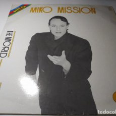 Discos de vinilo: MAXI - MIKO MISSION ?– THE WORLD IS YOU - BU 0039 ( VG / VG+) ITALY 1984. Lote 221301797