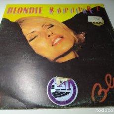 Discos de vinilo: MAXI - BLONDIE – RAPTURE = RAPTO - CHSC 2485 ( VG+ / G+) SPAIN 1981. Lote 221302228