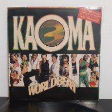 Discos de vinilo: KAOMA. WORLD BEAT.. Lote 221309971