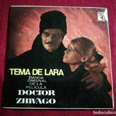 Discos de vinilo: DOCTOR ZHIVAGO TEMA DE LARA. Lote 221311732
