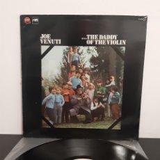 Discos de vinilo: JOE VENUTI. THE DADDY OF THE VIOLIN. STOP JAZZ. 1981? ESPAÑA. PROMOCIONAL. PROHIBIDA LA VENTA.. Lote 221313132