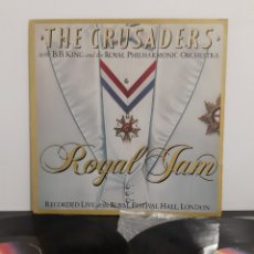 Discos de vinilo: THE CRUSADERS WITH B.B. KING AND THE ROYAL PHILARMONIC ORCHESTA. ROYAL JAM. MCA.. Lote 221313750