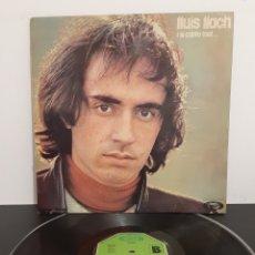 Discos de vinilo: LLUIS LLACH. I SI CANTO TRIST. MOVIE PLAY. 1974. SPAIN.. Lote 221314583