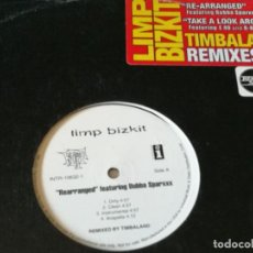 Discos de vinilo: LIMP BIZKIT - REARRANGED / TAKE A LOOK AROUND (TIMBALAND REMIXES) - 2001. Lote 221317786