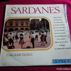 Discos de vinilo: COBLA BARCELONA - SARDANES - BELTER - LP. Lote 221320623