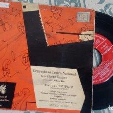 Discos de vinilo: E.P. ( VINILO) DE ORQUESTA DEL TEATRO NACIONAL DE LA OPERA COMICA. Lote 221333387