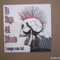 Discos de vinilo: EP - PUNK - LA SOGA DEL MUERTO (LUEGO VAS TU) - 2019 - BILBAO - PRECINTADO. Lote 221339103