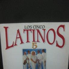 Discos de vinilo: LOS CINCO LATINOS. 20 GRANDES CANCIONES.2 LP 1991.. Lote 221339158