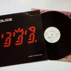 Discos de vinilo: LP: THE POLICE - GHOST IN THE MACHINE (AM RECORDS, 1981) - PROMO, PROMOCIONAL -. Lote 221339796