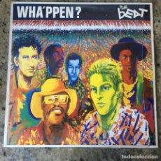 Discos de vinilo: THE BEAT - WHA'PPEN? . LP . 1981 GO-FEET RECORDS. Lote 221340277