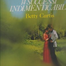 Discos de vinilo: LP BETTY CURTIS 14 SUCCESSI INDIMENDICABILI UP CERCAMI CHARIOT CANZONETTA ROMANTICA ITALY 1975. Lote 221341802