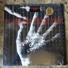 Discos de vinilo: MAJEK FASHEK - PRISONER OF CONSCIENCE . LP . 1989 USA. Lote 221343312
