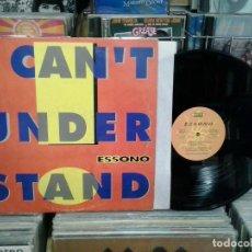 Discos de vinilo: LMV - ESSONO. I CAN'T UNDERSTAND. MAX MUSIC ?1994, REF. NM 851 MX -- 12''. Lote 221343510