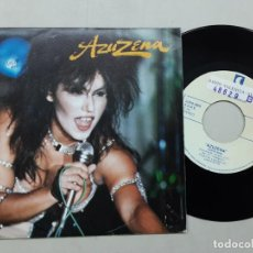 Discos de vinilo: AZUZENA, ROMPERAS SU CORAZÓN , SUPER STAR. Lote 221362578