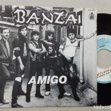 Discos de vinilo: BANZAI, AMIGO, COCHE RÁPIDO EN LA NOCHE. Lote 221364543