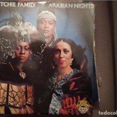 Discos de vinilo: THE RITCHIE FAMILY ARABIAN NIGHTS ED ESPAÑA 1976 INCLUYE 2 HOJAS PROMO. Lote 221367392