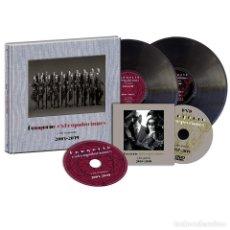 Discos de vinilo: FANGORIA - EXTRAPOLACIONES Y DOS RESPUESTAS 2 LP + CD + DVD *** FIRMADO *** PRECINTADO ****. Lote 221367881